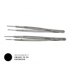 Pęseta chirurgiczna Gerald 17,5 cm z ząbkiem