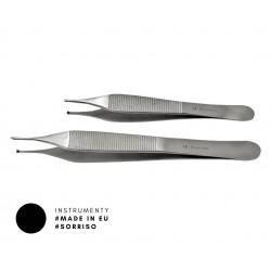Pęseta chirurgiczna z ząbkiem typ Adson